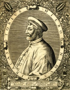 Engraving of Girolamo Fracastoro