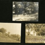 Page from William and Lucy Taliaferro photo album.