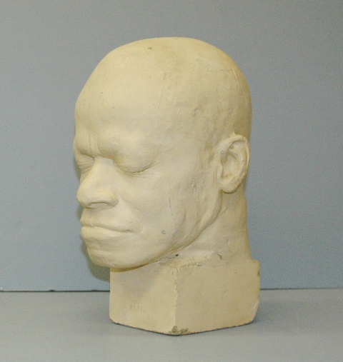 Phrenology cast of Eustache Belin, Warren Anatomical Museum, Francis. A. Countway Library [WAM 03235]
