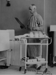 Harvey Cushing in Scrubs, circa 1930s