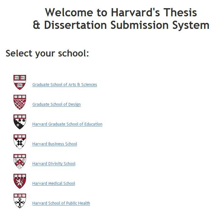 reference dissertation harvard style