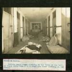Interior hallway of Montevue Asylum.