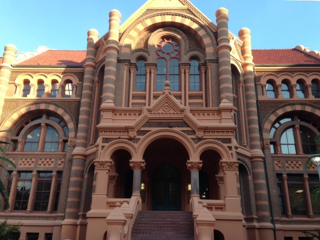 "Ashbel Smith Building (""Old Red""), University of Texas Medical Branch, October 5, 2015"