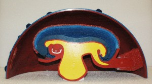 Teaching model of human embryo designed and used by Elizabeth D. Hay.