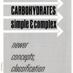 "Front page of ""The Importance of Carbohydrates, Simple & Complex"" booklet, undated, published by the Cereal Institute, Inc."