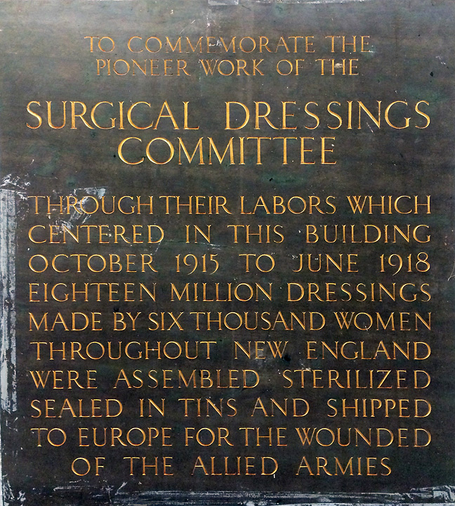 Surgical Dressings Plaque3a