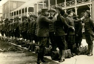 Final Inspection of Harvard Unit at Fort Totten, N.Y., May 11, 1917 [0003947]