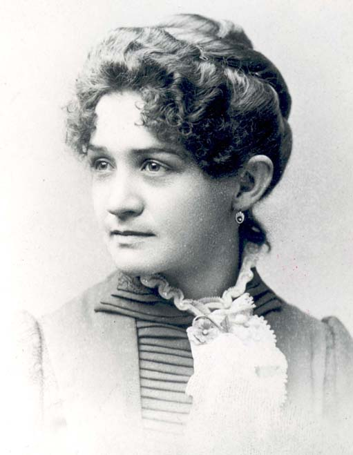 Portrait photograph of Mary B. Ritter.