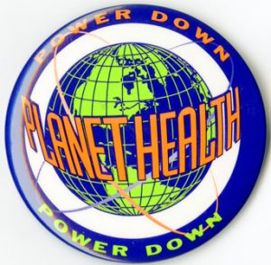 Planet Health Power Down button, from the Harvard Prevention Research Center's Planet Health Curriculum. P-DT08.01, Series 00598.