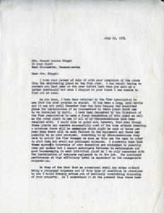Silverman-Resident Correspondence 2/3
