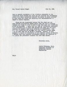 Silverman-Resident Correspondence 3/3