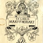 """Ex Libris Mary F. Hobart"""