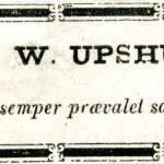 """""""Thomas W. Upshur, M.D."""" """"Virtute semper praevalet sapientia."""""""