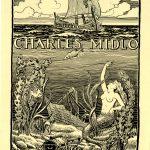 """Ex Libris Charles Midlo"""